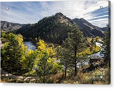 Color On The Poudre Acrylic Print