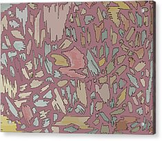 Color Pattern 4 Acrylic Print