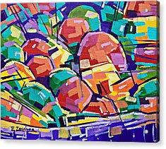 Color Salad Acrylic Print