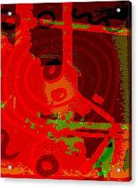 Color Trap Acrylic Print by Mildred Ann Utroska        Mauk
