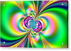 Color Wash Acrylic Print by Thomas Smith