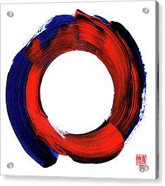 Color Zen Circle Acrylic Print
