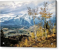 Colorado Autumn Acrylic Print