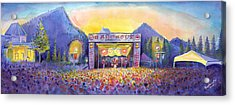 Acrylic Print featuring the painting Colorado Bbq Challenge Frisco by David Sockrider