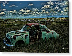 Colorado Chevy Acrylic Print by Nick Roberts