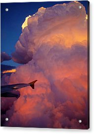 Colorado Cloud Acrylic Print by Gina Cordova