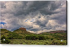 Colorado Cloudscape Acrylic Print by Loree Johnson
