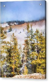 Colorado Color Splash 1 Landscape Art By Jai Johnson Acrylic Print by Jai Johnson