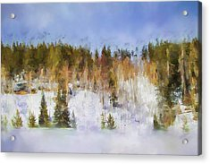 Colorado Color Splash 2 Landscape Art By Jai Johnson Acrylic Print by Jai Johnson