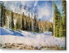 Colorado Color Splash 3 Landscape Art By Jai Johnson Acrylic Print by Jai Johnson