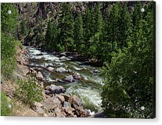 Colorado Country Acrylic Print by Donna Doherty