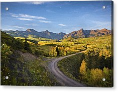 Colorado Curves Acrylic Print