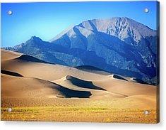 Colorado Dunes Acrylic Print