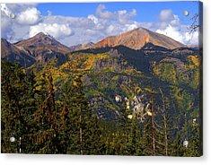 Colorado Fall Acrylic Print by Marty Koch