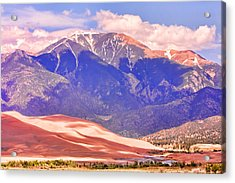 Colorado Great Sand Dunes National Park  Acrylic Print by James BO  Insogna