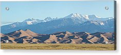 Colorado Great Sand Dunes Panorama Pt 1 Acrylic Print by James BO Insogna