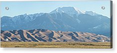 Colorado Great Sand Dunes Panorama Pt 2 Acrylic Print by James BO Insogna