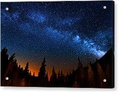 Colorado Milky Way Acrylic Print by Mark Andrew Thomas