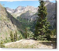 Colorado Mountain 1 Acrylic Print by Bruce Miller