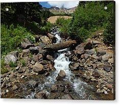 Colorado Mountain 3 Acrylic Print by Bruce Miller