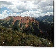 Colorado Mountain 4 Acrylic Print by Bruce Miller