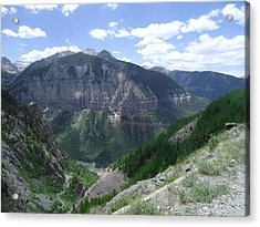 Colorado Mountain 5 Acrylic Print by Bruce Miller
