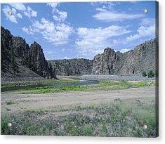 Colorado Mountain 7 Acrylic Print by Bruce Miller