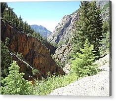 Colorado Mountain 9 Acrylic Print by Bruce Miller