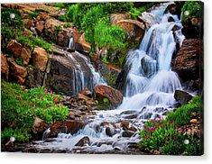 Colorado Mountain Stream, Indian Peaks Wilderness Acrylic Print