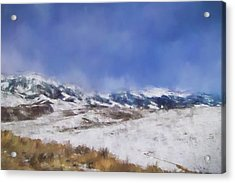 Colorado Mountains 2 Landscape Art By Jai Johnson Acrylic Print by Jai Johnson
