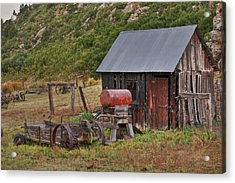 Colorado Ranch Acrylic Print by Charles Warren