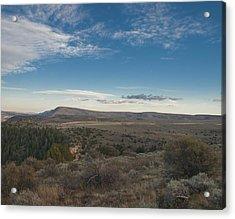 Acrylic Print featuring the photograph Colorado Range by Joshua House