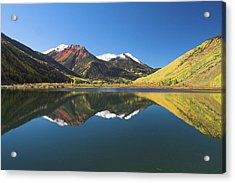 Acrylic Print featuring the photograph Colorado Reflections by Steve Stuller