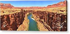 Colorado River Desert Landscape Acrylic Print