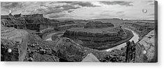 Colorado River Gooseneck Pano Acrylic Print