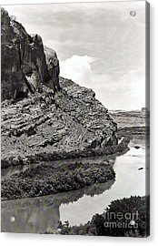 Acrylic Print featuring the photograph Colorado River by Juls Adams