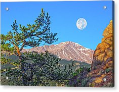 Colorado Rocky Mountain High, Just A Breath Away From Heaven Acrylic Print