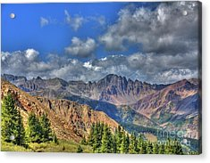 Colorado Rocky Mountains Acrylic Print