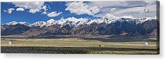 Colorado San De Cristo Mountains Panorama View Acrylic Print by James BO Insogna