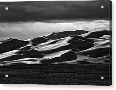 Colorado Sand Dunes Acrylic Print by Mark Courage
