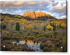 Colorado Sunrise Acrylic Print by Phyllis Peterson
