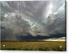 Colorado Supercell Acrylic Print by James Hammett