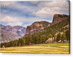 Colorado Western Landscape Acrylic Print by James BO  Insogna