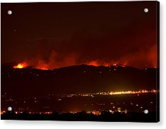Colorado Wildfire Fourmile Canyon Aka Labor Day Fire Acrylic Print