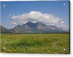 Colorado Wonder Acrylic Print by KatagramStudios Photography