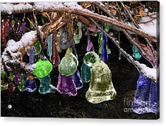 Colored Ice Bells Acrylic Print