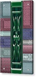Colorful Abstract 6 Acrylic Print