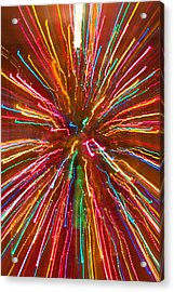 Colorful Abstract Photography Acrylic Print by James BO  Insogna