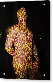 Colorful Anonymous Form Acrylic Print
