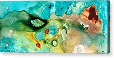 Colorful Art - Soul Shine - Sharon Cummings Acrylic Print by Sharon Cummings